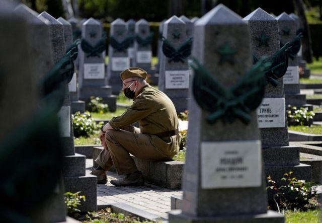 В Чехии почтили память советских воинов