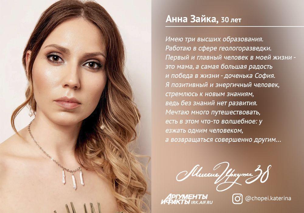 № 1. Анна Зайка