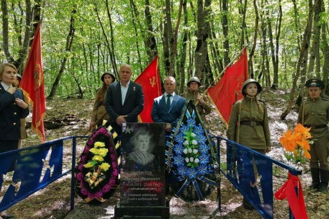 В Адыгее появился ещё один обелиск памяти павшим героям.