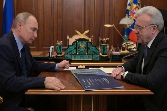 Александр Усс встретился с президентом.