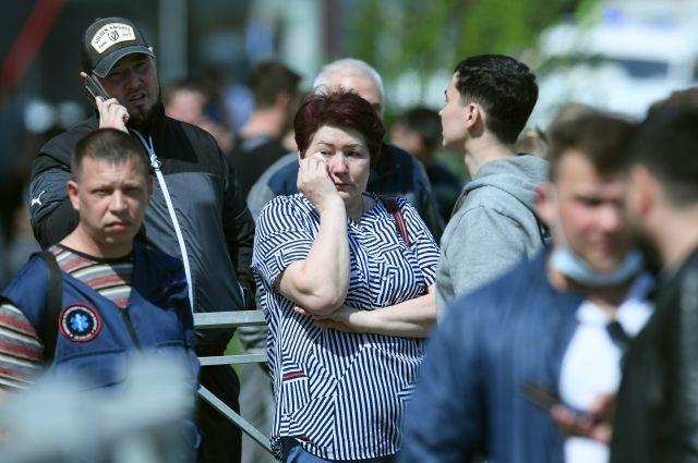 Учительница английского погибла, пытаясь спасти учеников в казанской школе