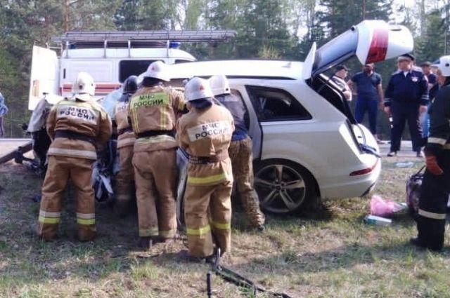 Пять человек стали жертвами ДТП в Курганской области