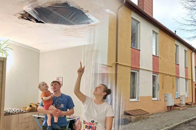 В таких условиях живут семьи в посёлке Долгоруково.