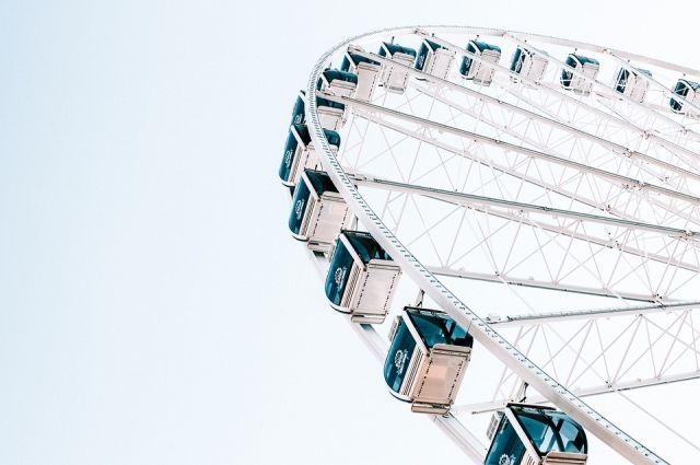 В Оренбурге демонтируют и отправят в утиль колесо обозрения и остальные аттракционы в парке в Степном.