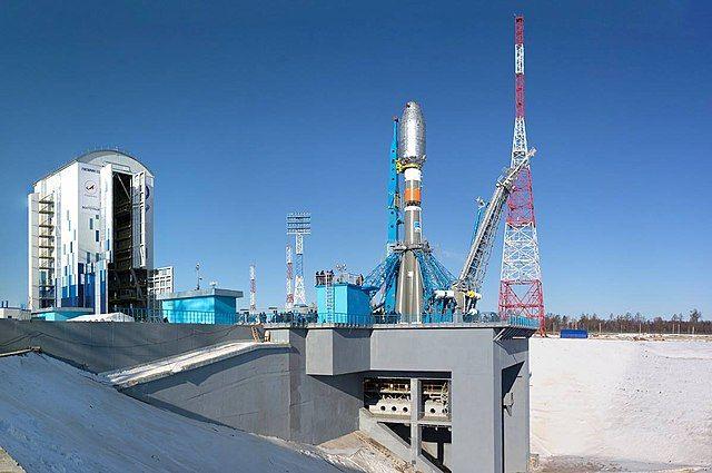 Пуск ракеты-носителя «Союз-2.1б» с космодрома Восточный.