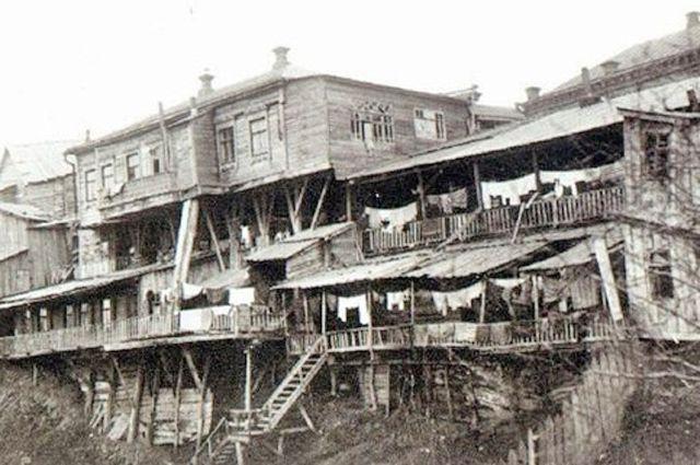 Так выглядели трущобы Царицына до пожара в 1910 г.