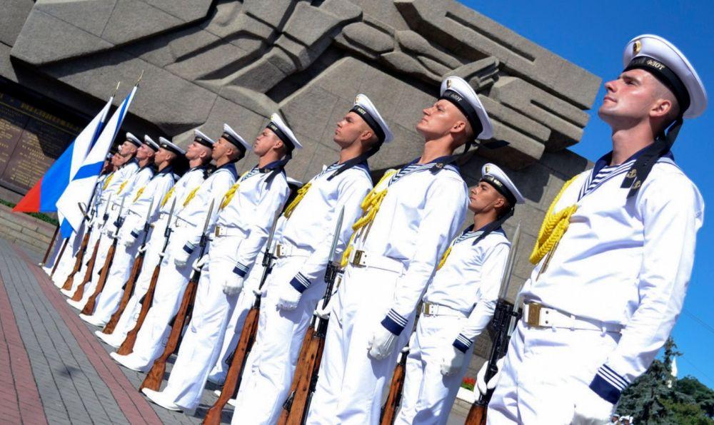 Праздник в честь Дня ВМФ на Черноморском флоте в Севастополе (2017 год)