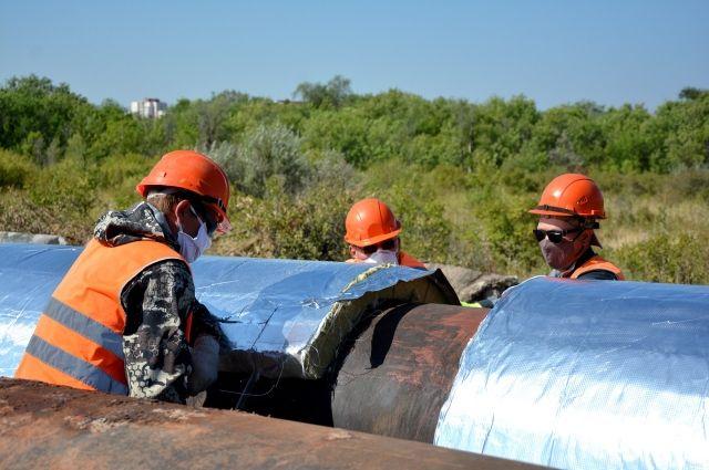 Сейчас специалисты проводят работы на магистральных сетях от улицы Волгоградской вдоль Загородного шоссе.