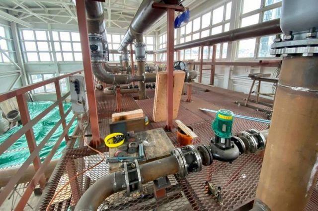 Сейчас газовая котельная в Корсакове готова на 66 %.