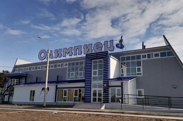 Возведение спортивного центра велось с 2019 года.