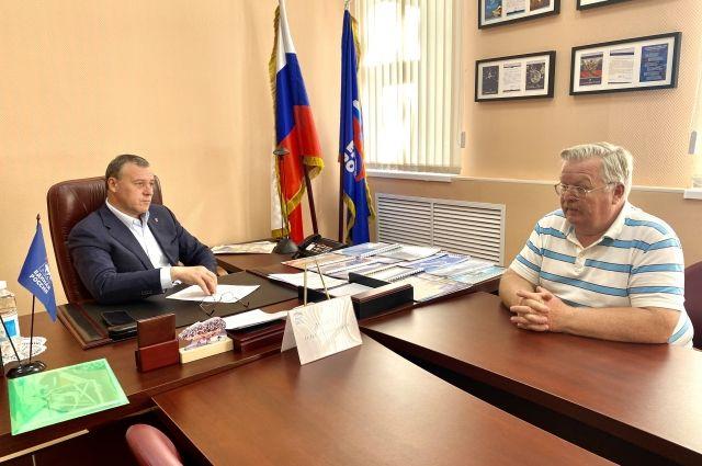 Олег Димов: «Оренбуржцы приходят не только с проблемами, но и с социальными проектами».