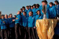 Команда «Зенит» с Кубком УЕФА, 2008 г.