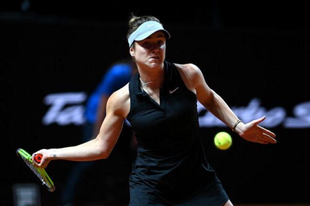 Свитолина уверенно прошла в четвертьфинал турнира в Риме