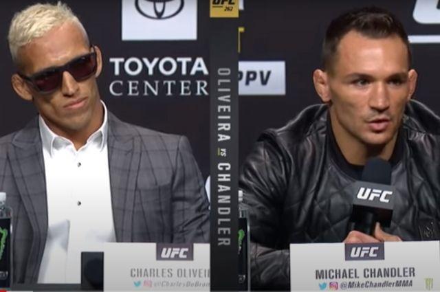 UFC 262: Оливейра vs Чендлер — Пресс-конференция.