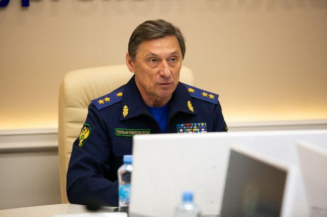 Заместитель Генерального прокурора РФ Николай Шишкин посетил Оренбург с рабочим визитом.