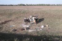 Автомобиль под управлением 66-летнего водителя опрокинулся в кювет.
