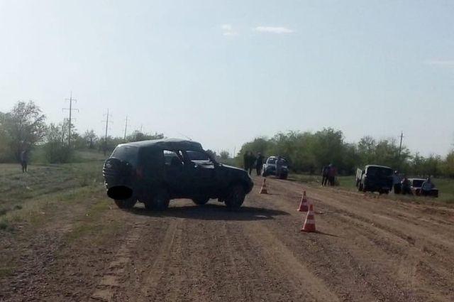 В Соль-Илецком городском округе прозошло смертельное ДТП с «Шевроле Нива».