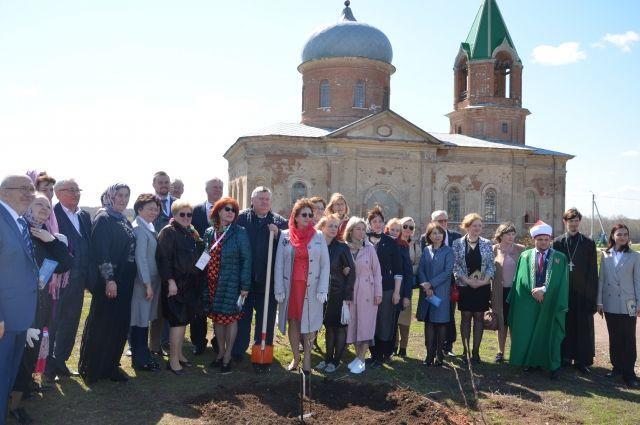 Праздничная встреча прошла в селе Черноречье Оренбургского района.
