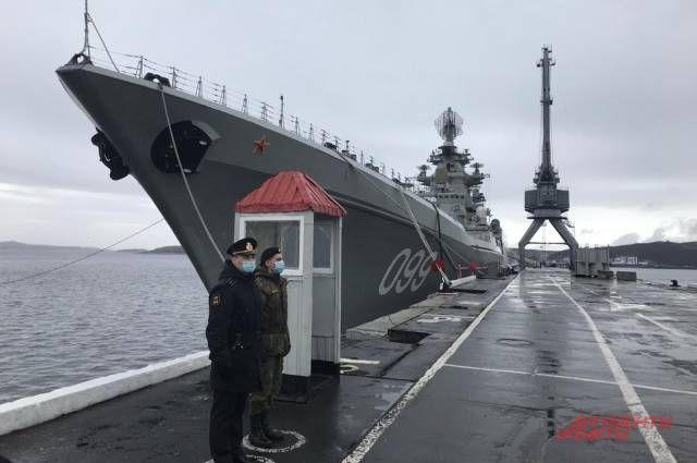 Тяжелый атомный ракетный крейсер «Петр Великий».