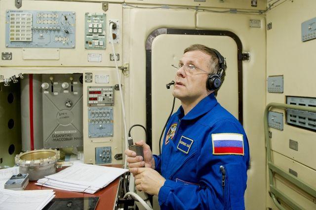 На орбите Андрей Борисенко провел почти год - 337 дней.