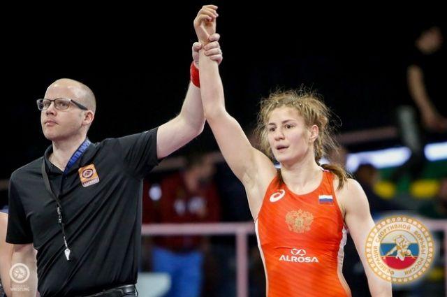 Чемпионат Европы-2020 в Риме, женская борьба, Любовь Овчарова.