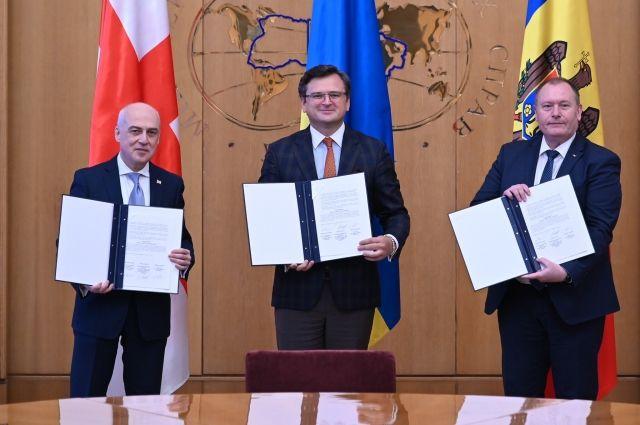 Украина, Грузия и Молдова создали новый формат «Ассоциированного трио»
