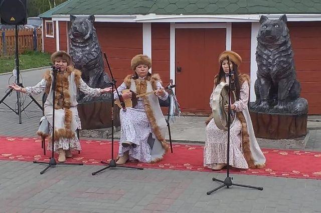 Шорская этнодеревня появилась в Мысках.