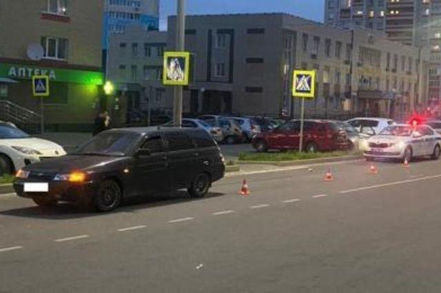 В Брянске на пешеходном переходе сбили школьника девяти лет