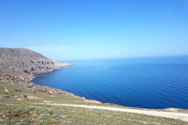 Крымское побережье, мыс Меганом в мае 2021 года.