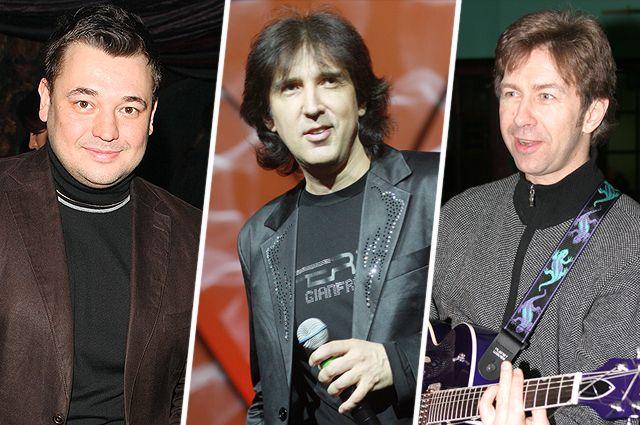Сергей Жуков, Кай Метов, Валерий Сюткин.