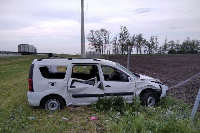 На трассе М-4 в Краснодарском крае четыре человека пострадали в ДТП