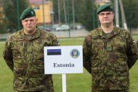 Солдаты армии Эстонии.