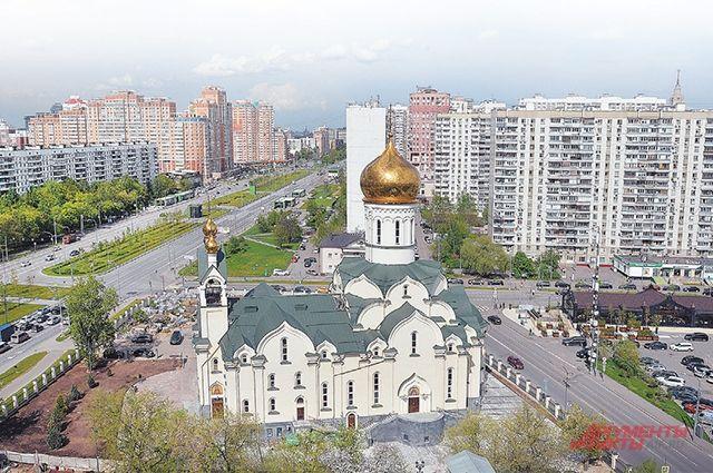 Новая церковь в Раменках – втройке крупнейших храмовых комплексов ЗАО.