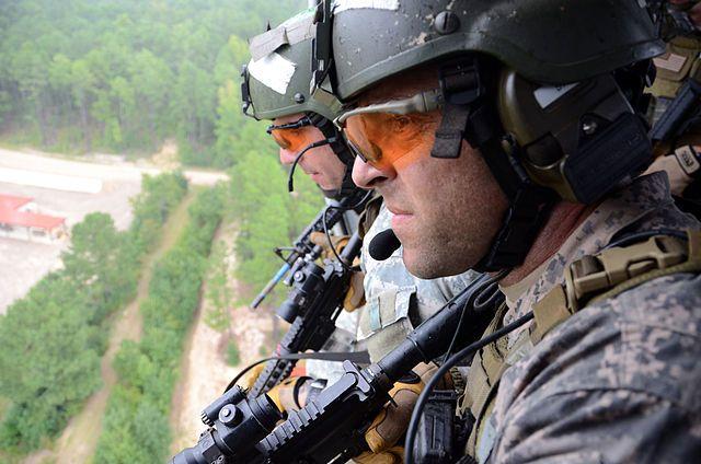 Солдаты спецназа США (USSF).