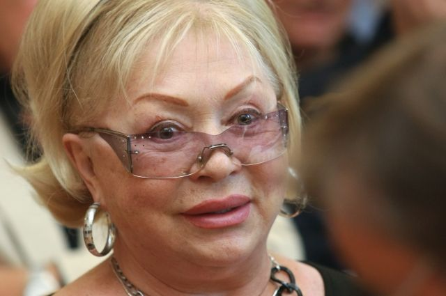 Актриса Татьяна Бестаева
