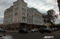 В здании администрации областного центра работали сотрудники ОБЭП.