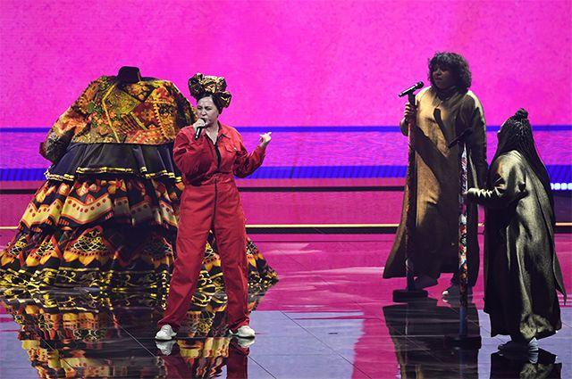Выступление Манижи на «Евровидении».