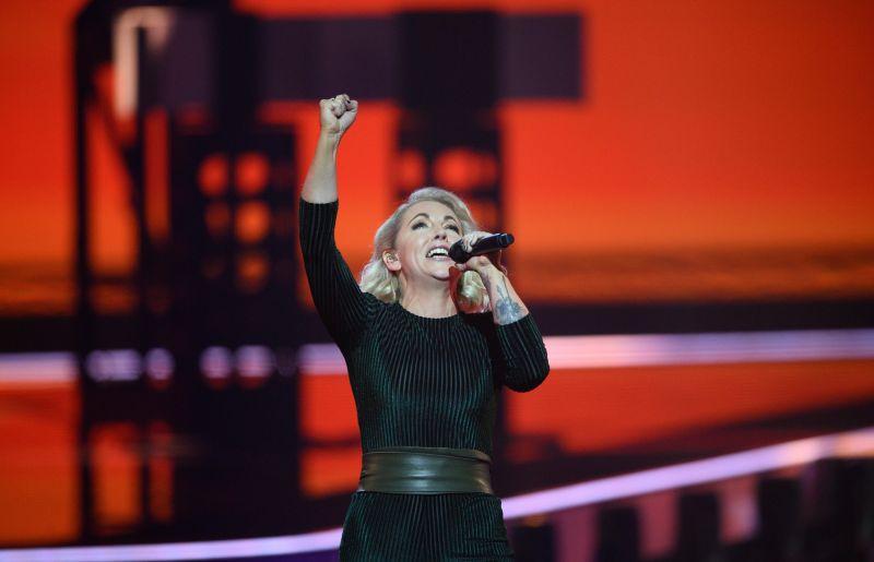 Певица Лесли Рой (Ирландия)