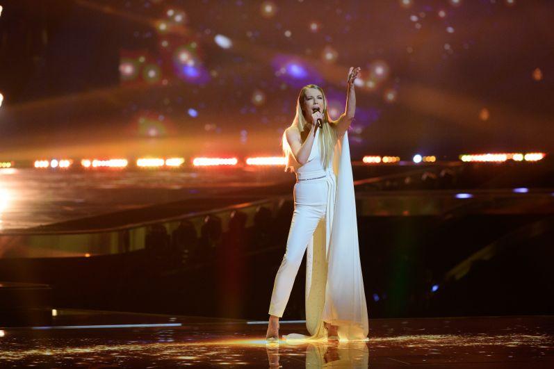 Певица Ана Соклич (Словения)