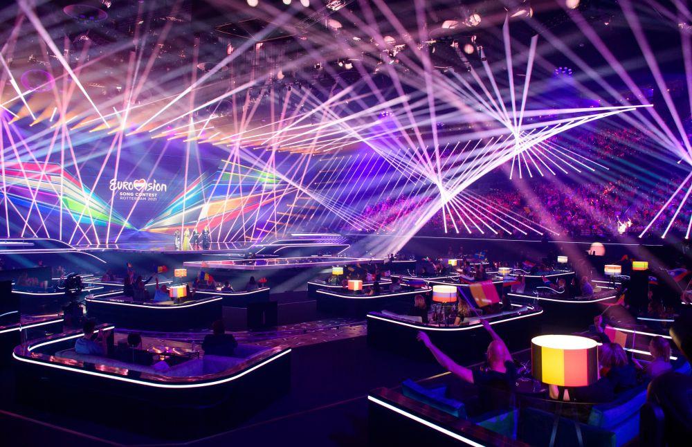 Во время первого полуфинала 65-го международного конкурса песни «Евровидение» в концертном зале «Ахой»