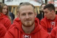 Российский хоккеист Иван Телегин.