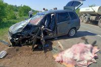 На дороге Грачевка – Бузулук произошла авария.