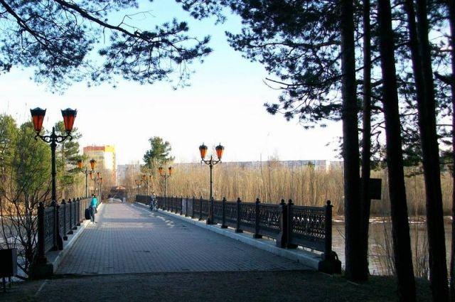 Жители Сургута проголосовали за благоустройство парка за Саймой