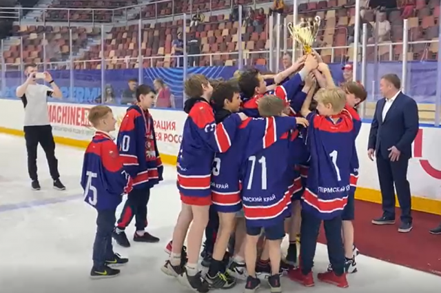 Сборная края взяла «серебро» чемпионата.