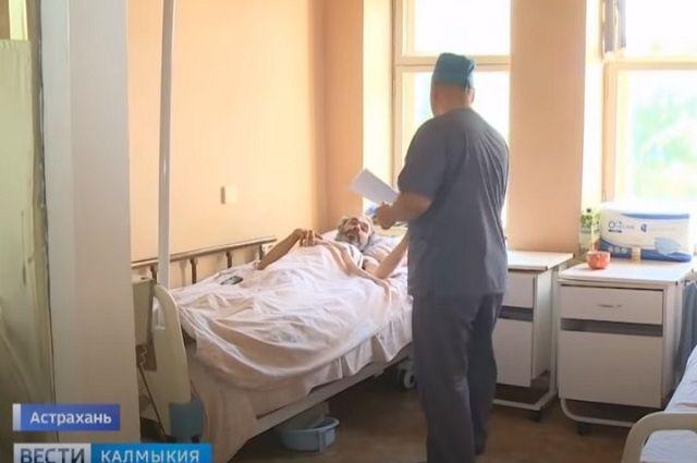 Полтора месяца Дмитрий пролежал в отделении травматологии в Астрахани
