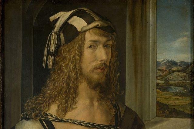 «Автопортрет с пейзажем» (1498).