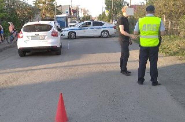 Полиция проводит проверку по факту ДТП в Орске.