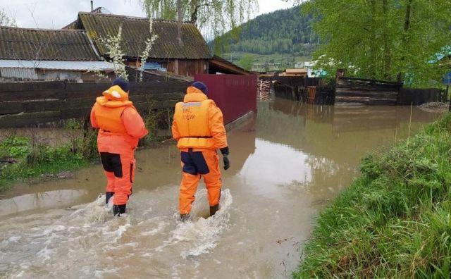 В Хакасии из-за паводка введён режим ЧС