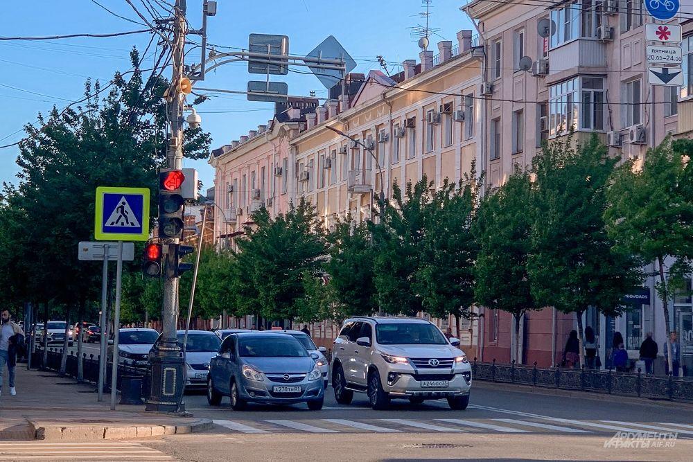 Улица Красная.