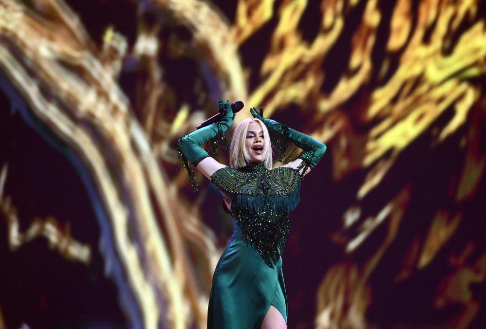 Певица Саманта Тина (Латвия)